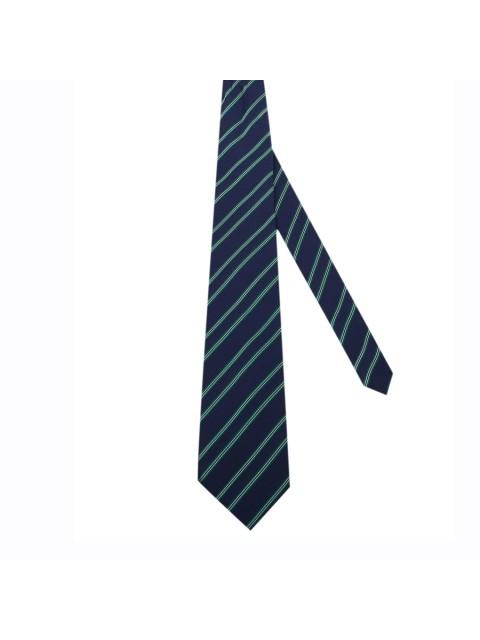 Cravat Uomi UOM 001 Kẻ xanh lá