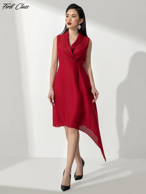Đầm FirstClass A990-151E đỏ