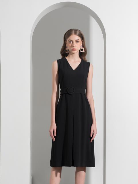 Đầm B990-462G đen