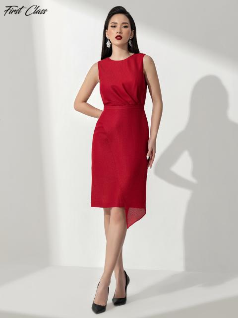 Đầm FirstClass A990-157E đỏ