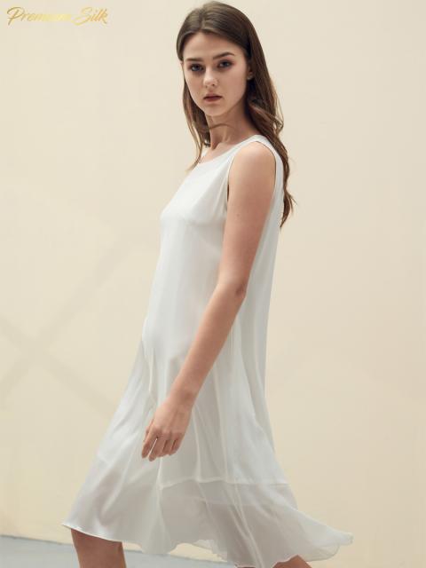 Đầm B9DRE005E trắng