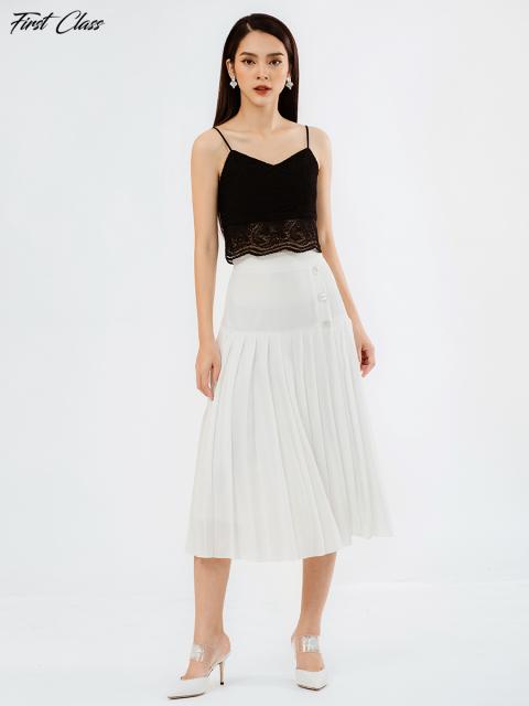 Chân váy A917-943E trắng