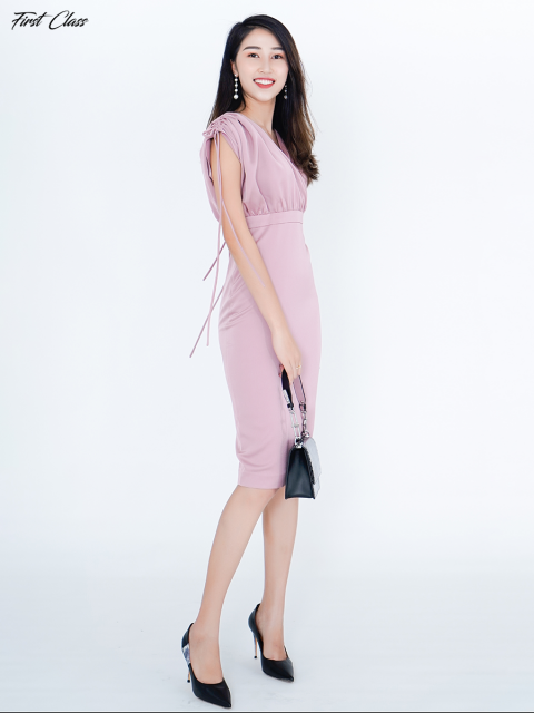 Đầm A991-400G hồng