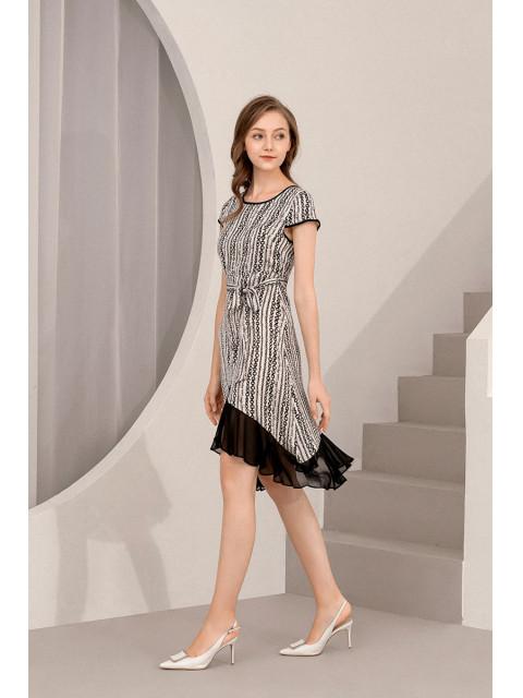 Đầm lụa B9DRE206G