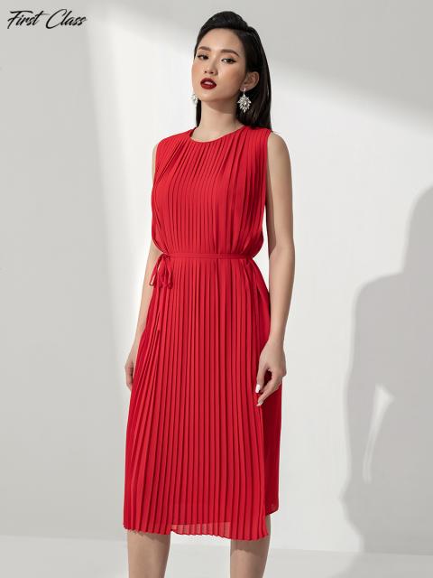 Đầm FirstClass A990-168E đỏ