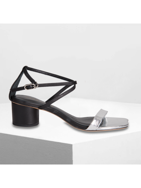 Sandals B9SHO316E bạc