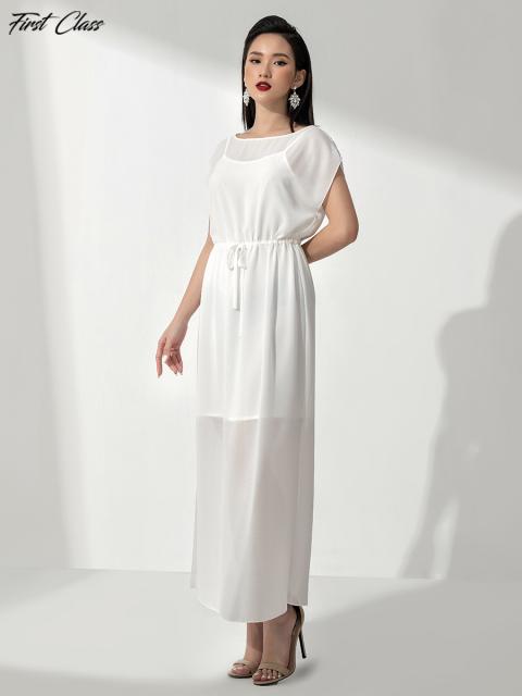 Đầm A991-140E trắng