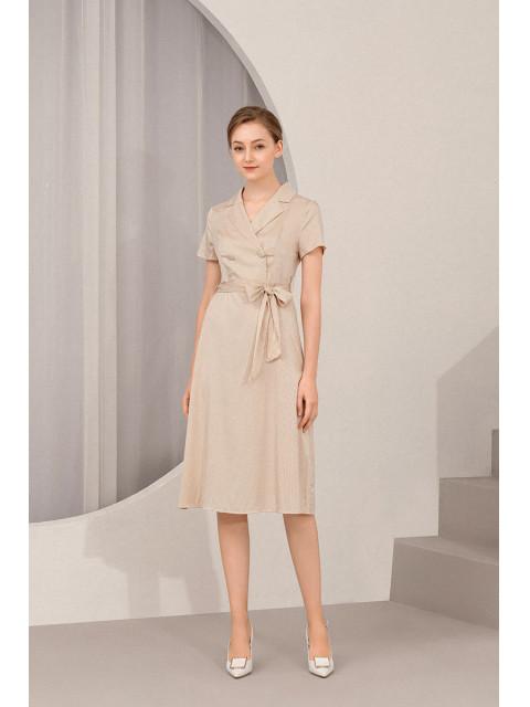 Đầm B9DRE204G trắng
