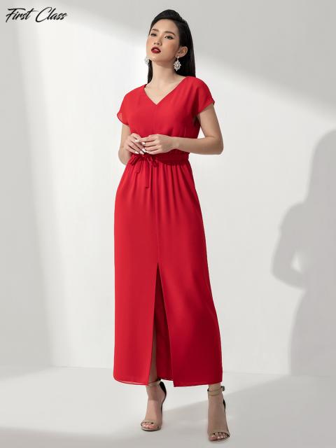 Đầm FirstClass A993-135E đỏ