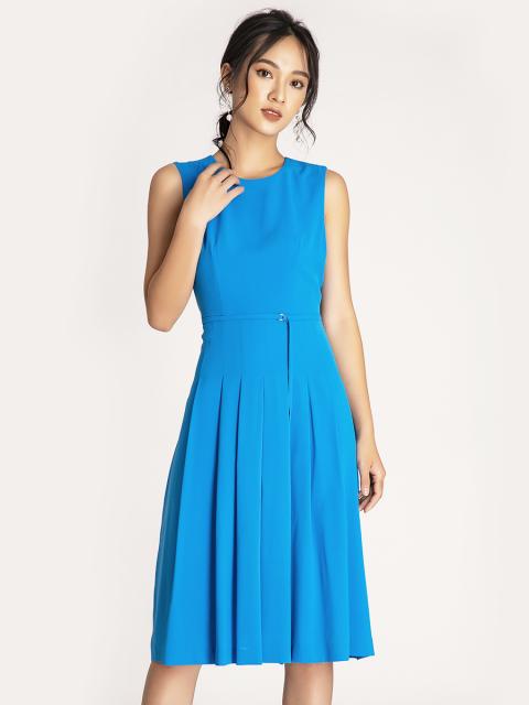 Đầm B990-141E xanh