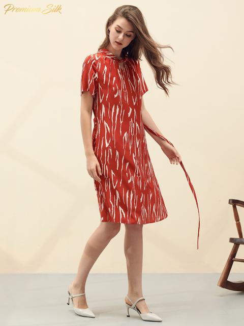 Đầm B9DRE201E đỏ