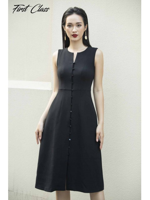 Đầm A990-075D đen
