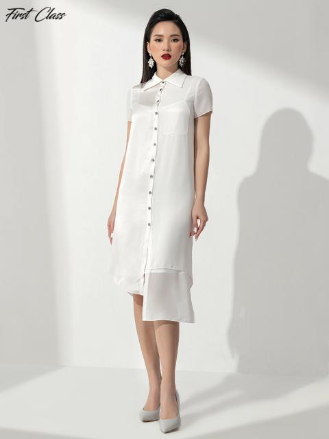 Đầm FirstClass A993-144E trắng