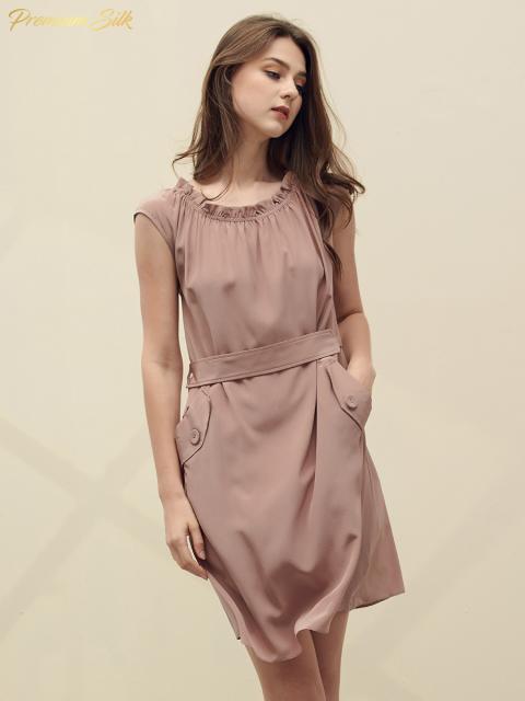 Đầm B9DRE205E hồng