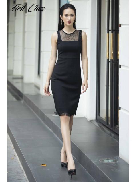 Đầm A990-090D đen