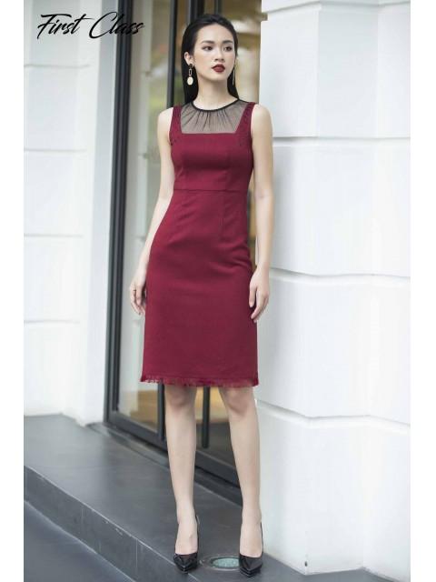 Đầm A990-090D đỏ