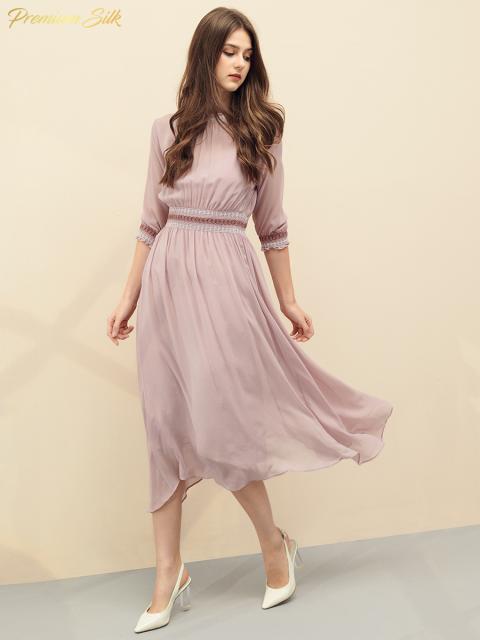 Đầm B9DRE207E hồng