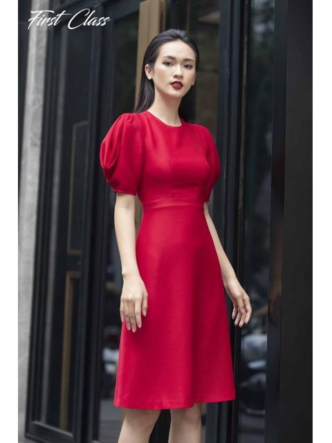 Đầm A997-099D đỏ