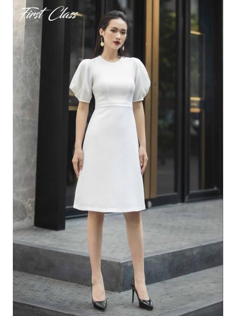 Đầm A997-099D trắng