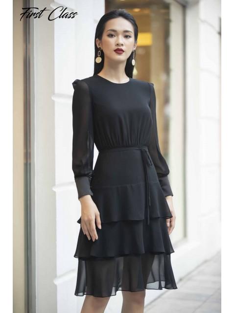 Đầm A999-123D đen