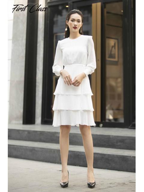 Đầm A999-123D trắng