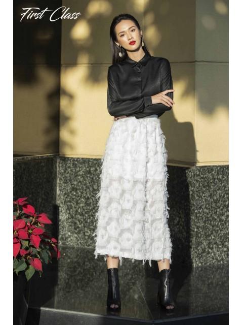 Chân váy A917-007D trắng
