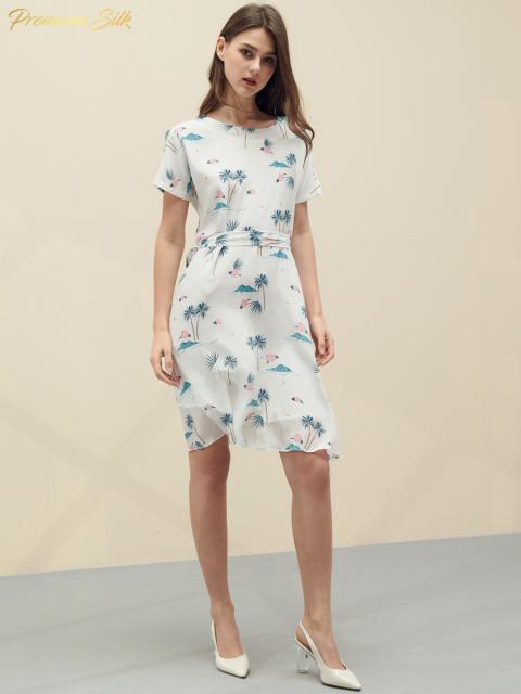 Đầm B9DRE216E trắng