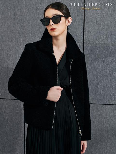Áo khoác B9COA027D đen