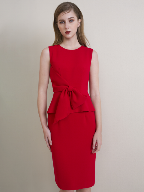 Đầm B990-426F đỏ