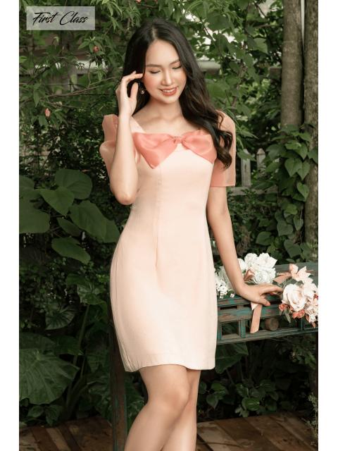 Đầm A993-553I hồng nhạt