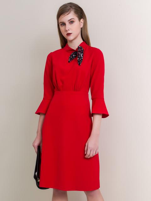 Đầm B997-335F đỏ