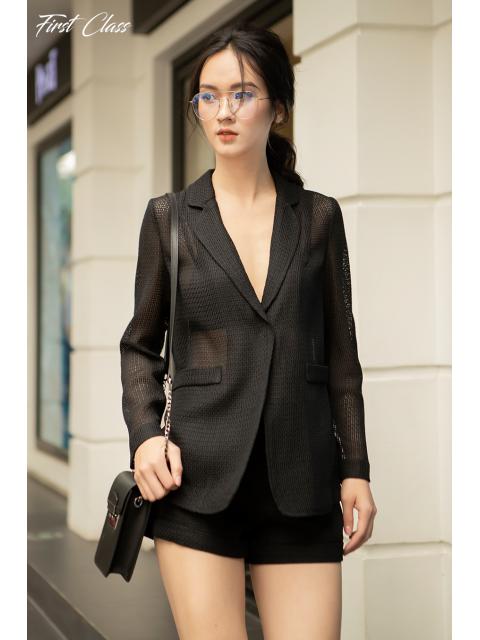 Áo vest A923-914D đen