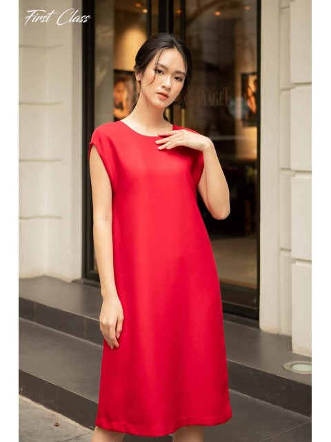 Đầm A990-100D đỏ