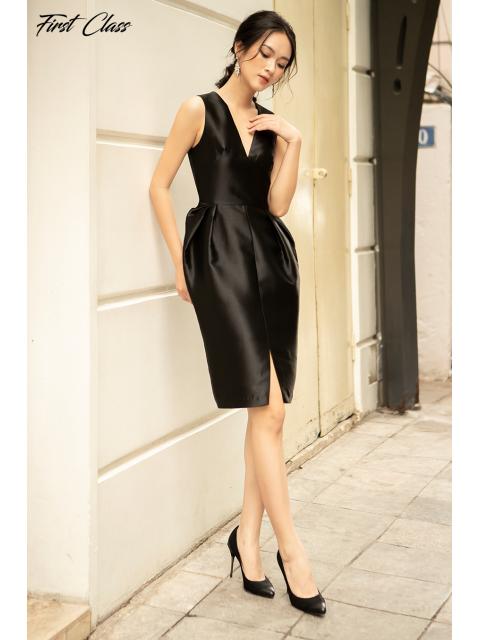 Đầm A990-121D đen