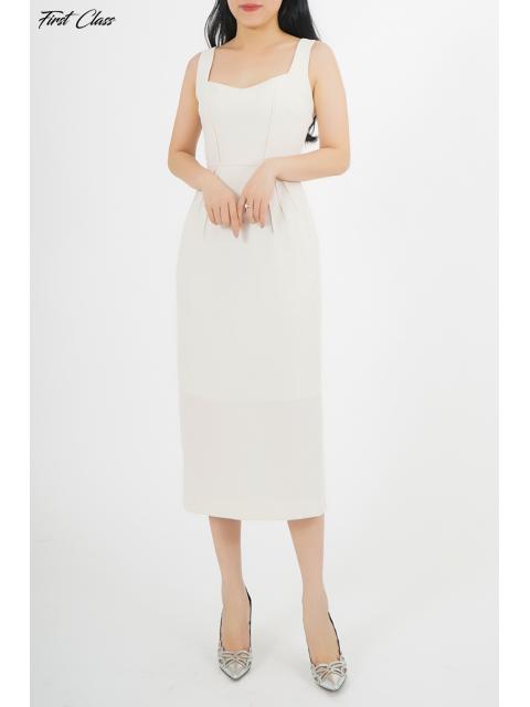 Đầm A990-413G trắng
