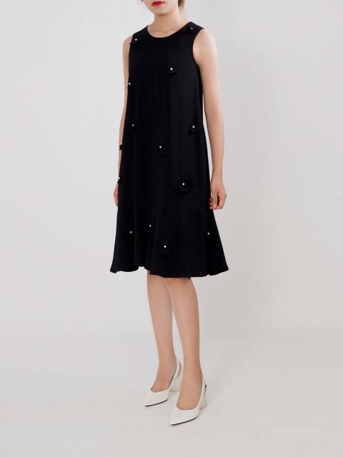 Đầm A990-449G đen