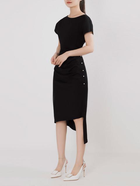 Đầm A993-421G đen