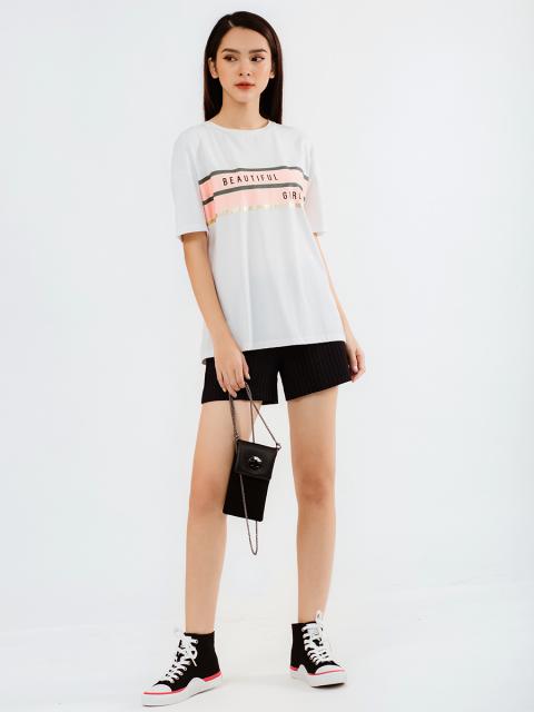 Áo T-shirt B933-239E trắng