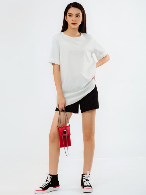 Áo T-shirt B933-241E trắng