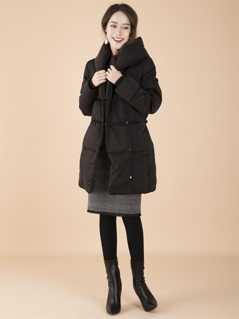 Áo khoác lông vũ B969-001D đen