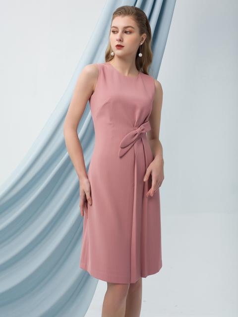 Đầm B990-420F hồng