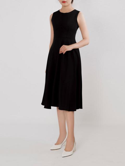 Đầm B990-611G đen