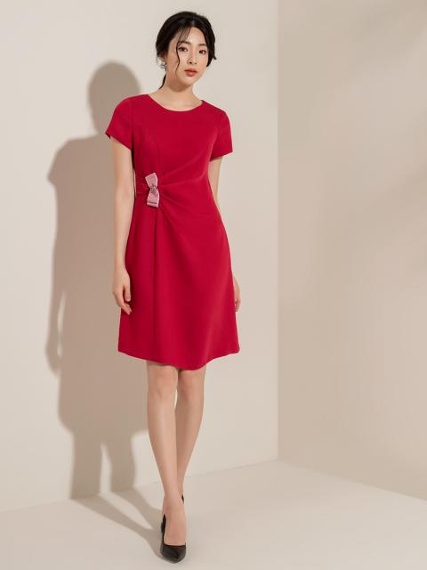 Đầm B993-035E đỏ
