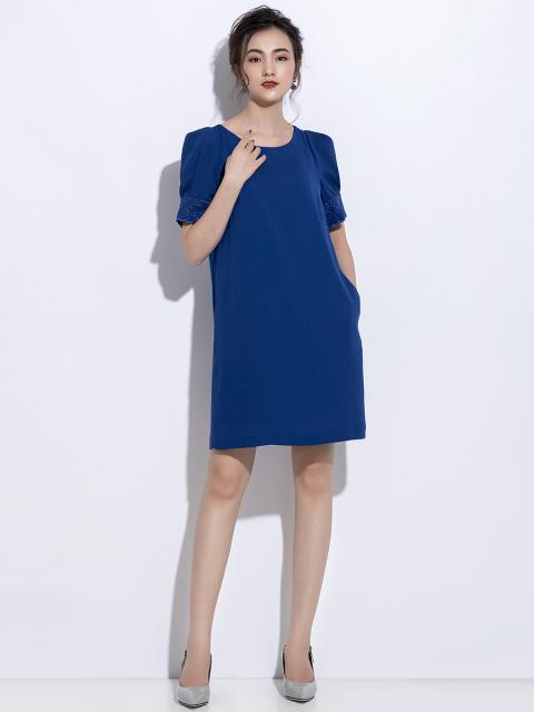 Đầm B993-169C xanh