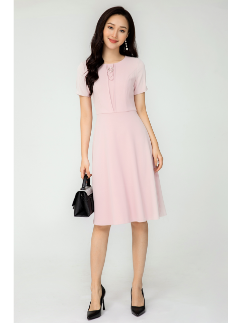 Đầm B993-245E hồng