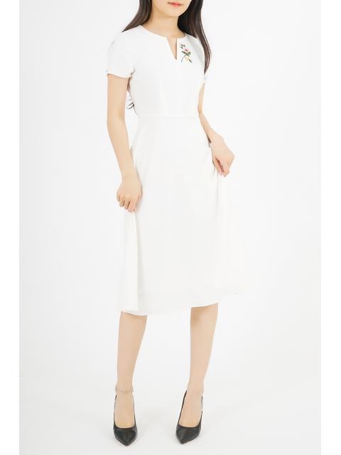 Đầm B993-478G trắng