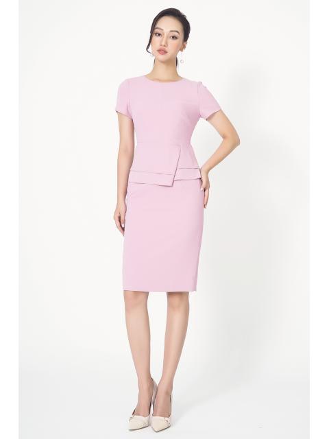 Đầm B993-537G hồng