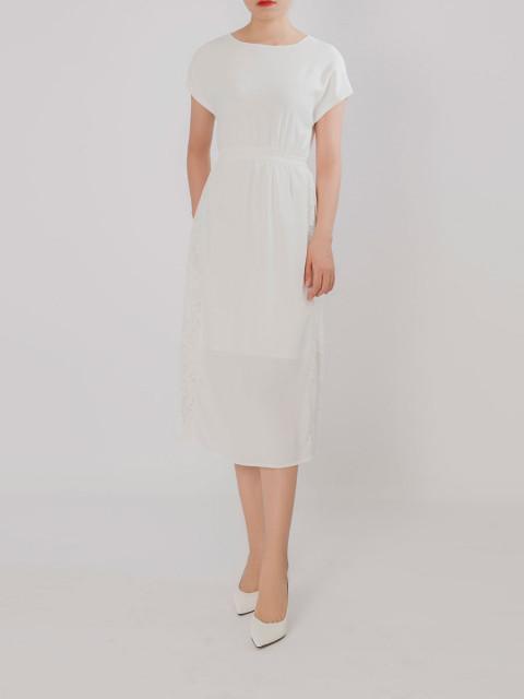 Đầm B993-622G trắng