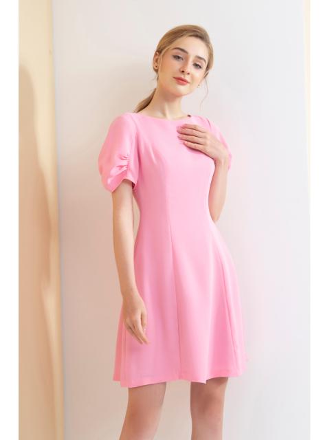 Đầm B993-739I hồng