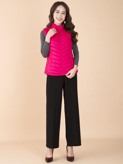 Áo khoác lông vũ B9COA001D hồng